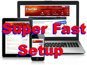 super fast BasicWebsite medium